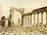 Arco di trionfo e colonnato, Palmira